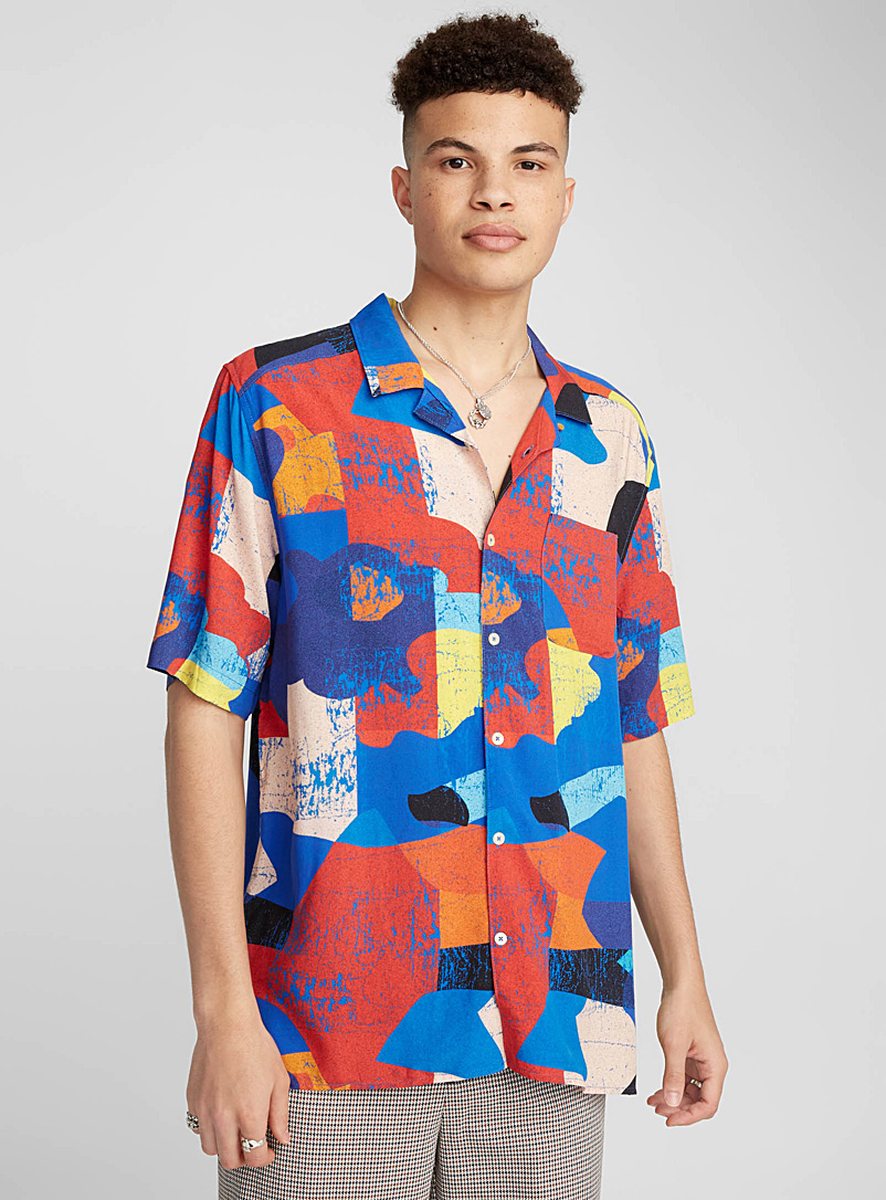 Neo tropical camp shirt - Short sleeves - Assorted