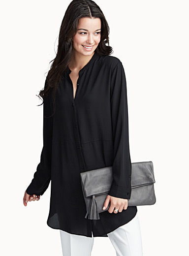 Loose fluid tunic