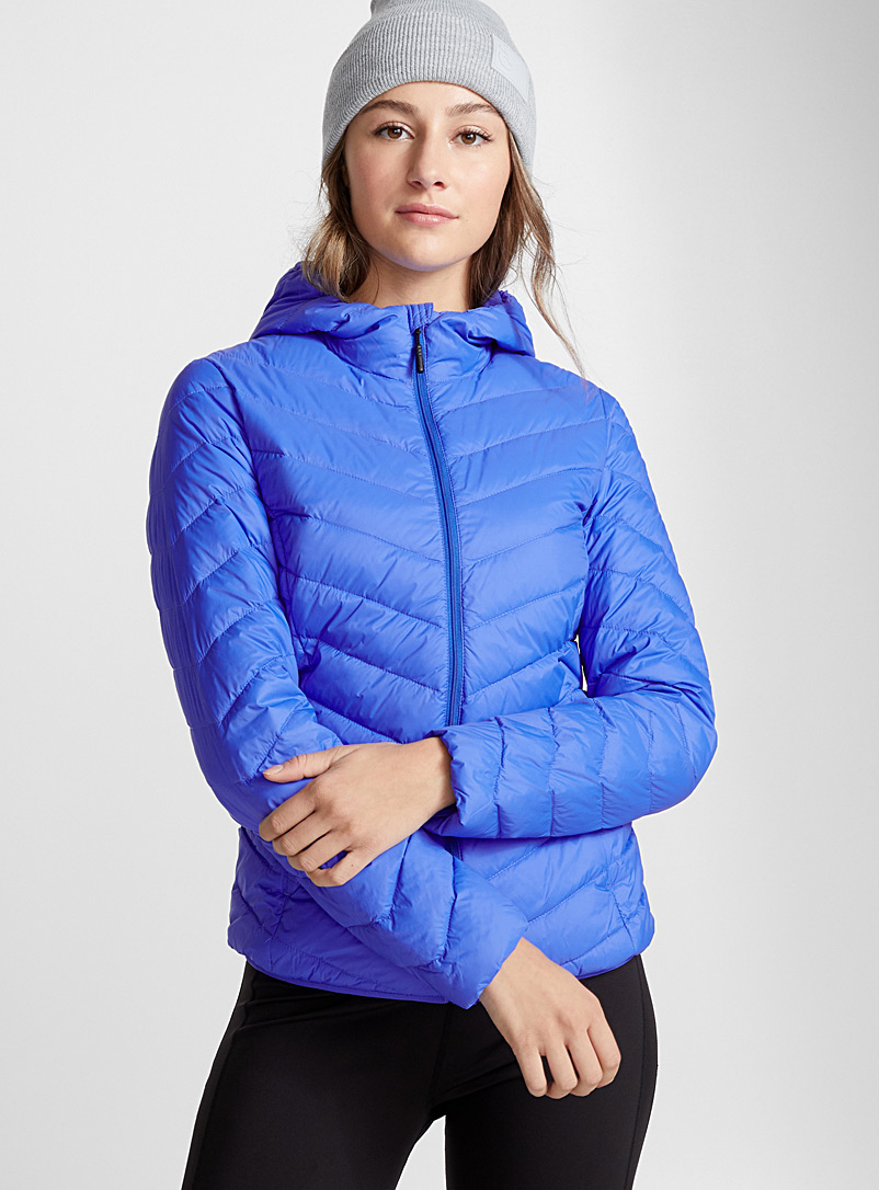 Packable quilted jacket - Outdoor - Sapphire Blue