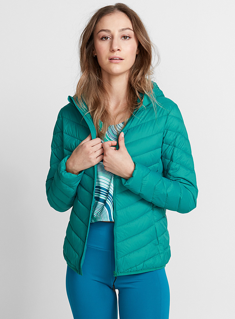 Recycled nylon quilted jacket - Jackets & vests - Kelly Green