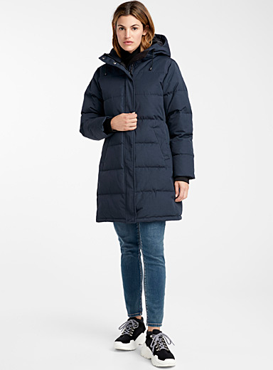 3/4 down puffer jacket