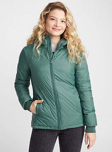 Soft nylon jacket