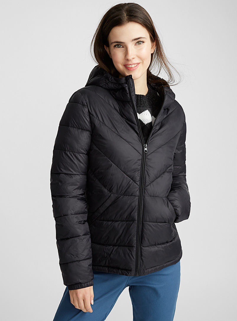 17f517fc92d22 Recycled polyester packable puffer jacket