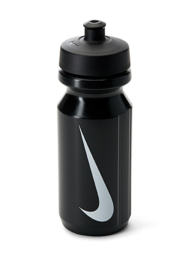Nike Black Swoosh sports water bottle for men