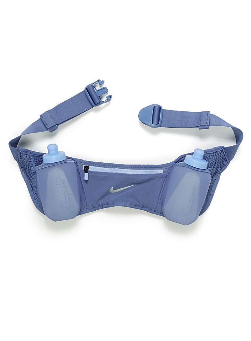 Double flask hydration belt - Assorted accessories - Slate Blue