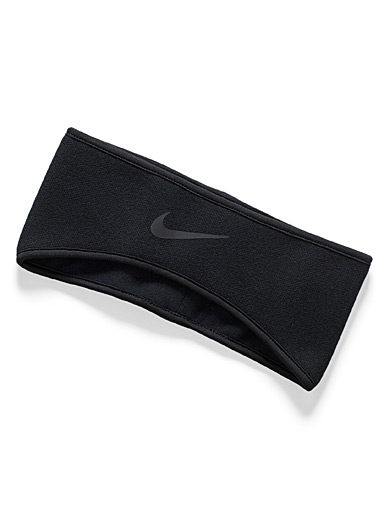 Polar fleece-lined winter headband