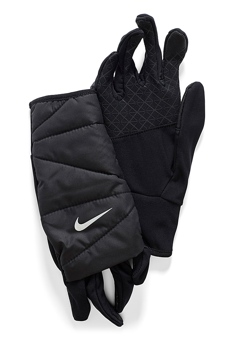 Quilted multi-layer gloves - Outdoor - Black