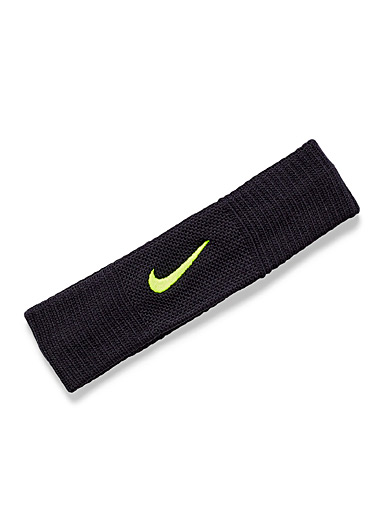 Nike Black Dry Reveal headband for women