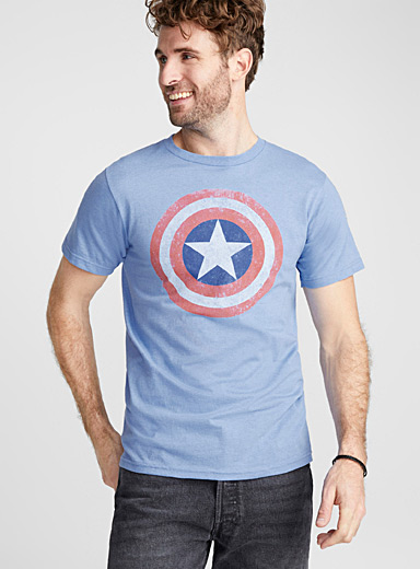 Le t-shirt Capitaine America