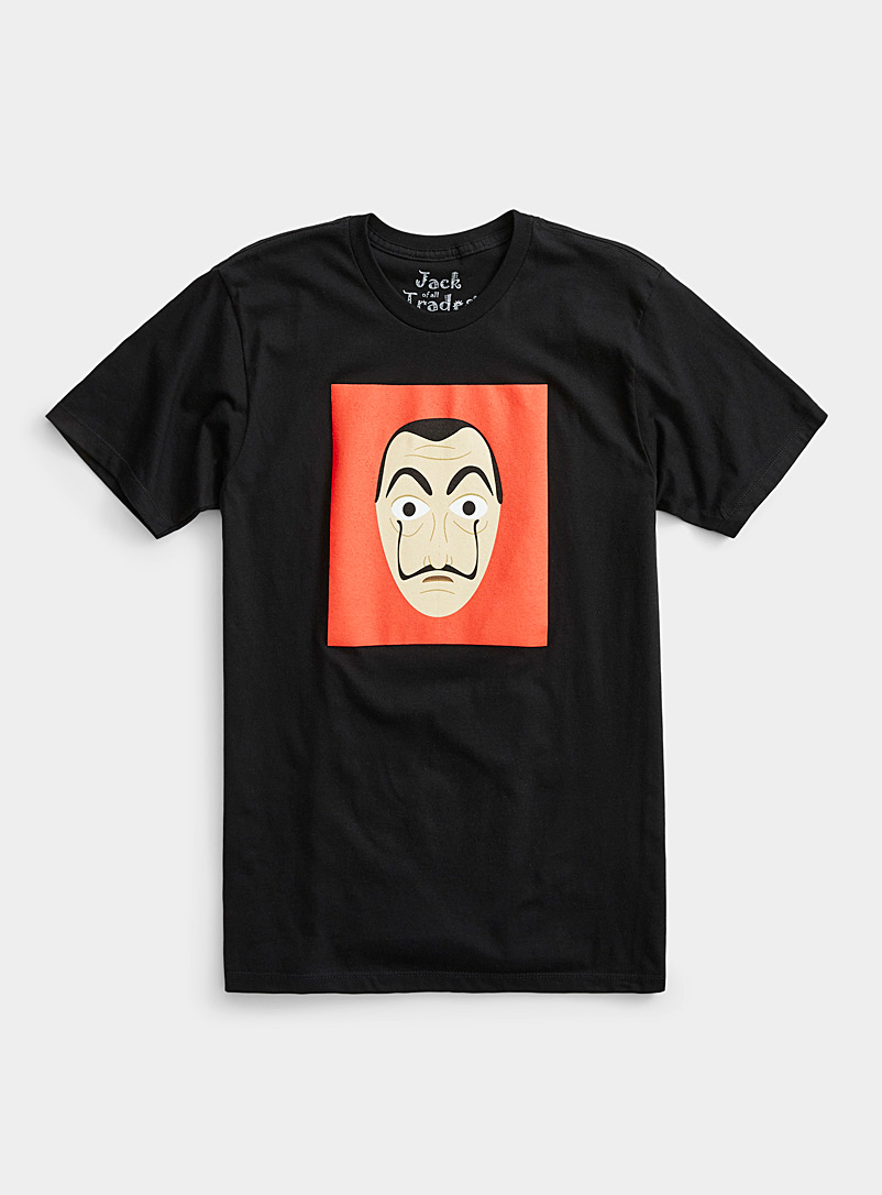 Le t-shirt masque Dalí