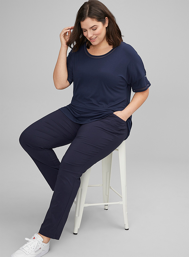 Columbia Navy blue Anytime Casual stretch pant Plus size for women
