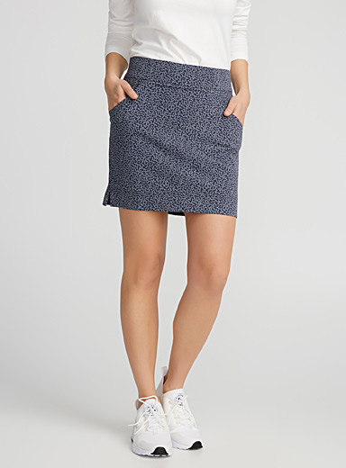 La jupe-short fleurie Anytime Casual