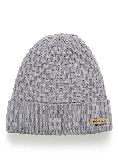 Hideaway Haven cable-knit tuque