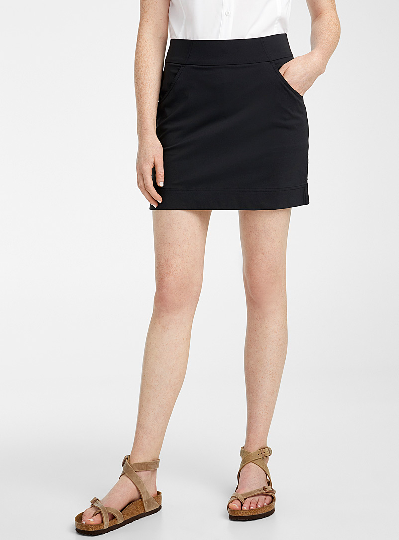 Columbia Black Anytime Casual skort for women