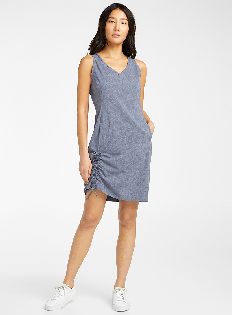 Columbia Patterned Grey Anytime Casual III tank dress for women