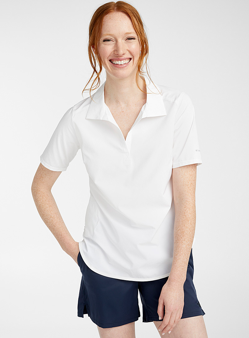 Columbia White Place to Place shirt for women