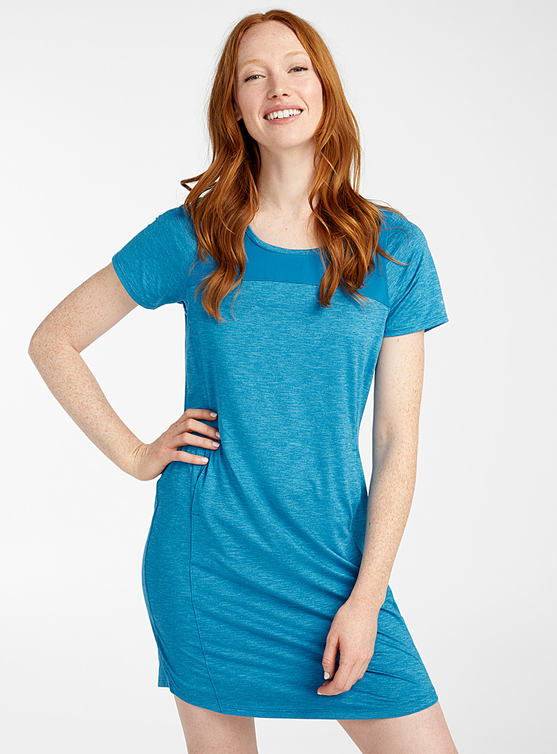 Columbia Blue Place to Place II T-shirt dress for women