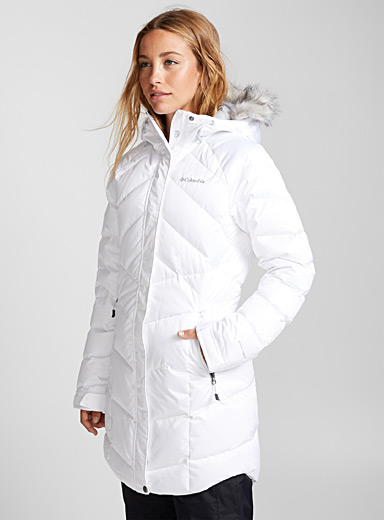 Lay D long down jacket  Active fit