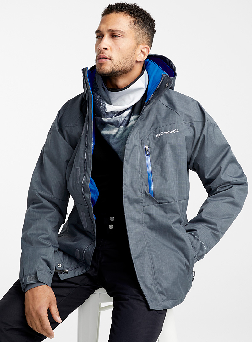 Alpine Action jacket  Classic fit - Outdoor - Charcoal