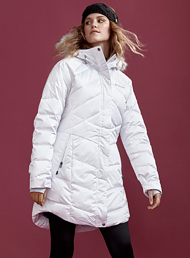 Lay D Down quilted parka  Long fit