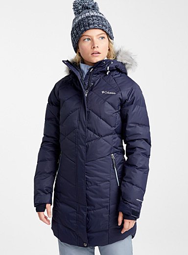Le parka matelassé Lay D Down <br>Coupe allongée