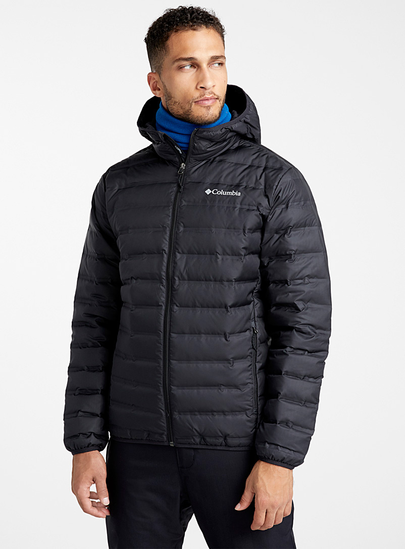 Lake 22 hooded quilted jacket - Jackets & vests - Black
