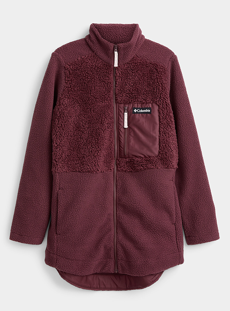 Lodge cotton fleece jacket