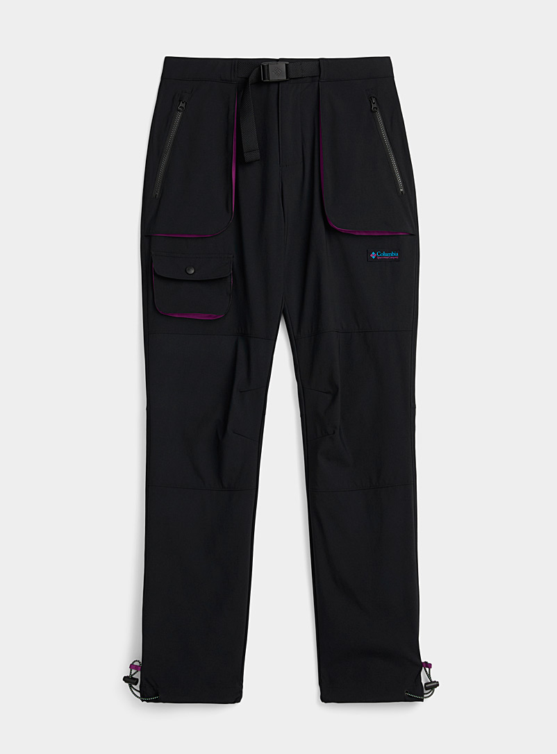 Technical nylon pant