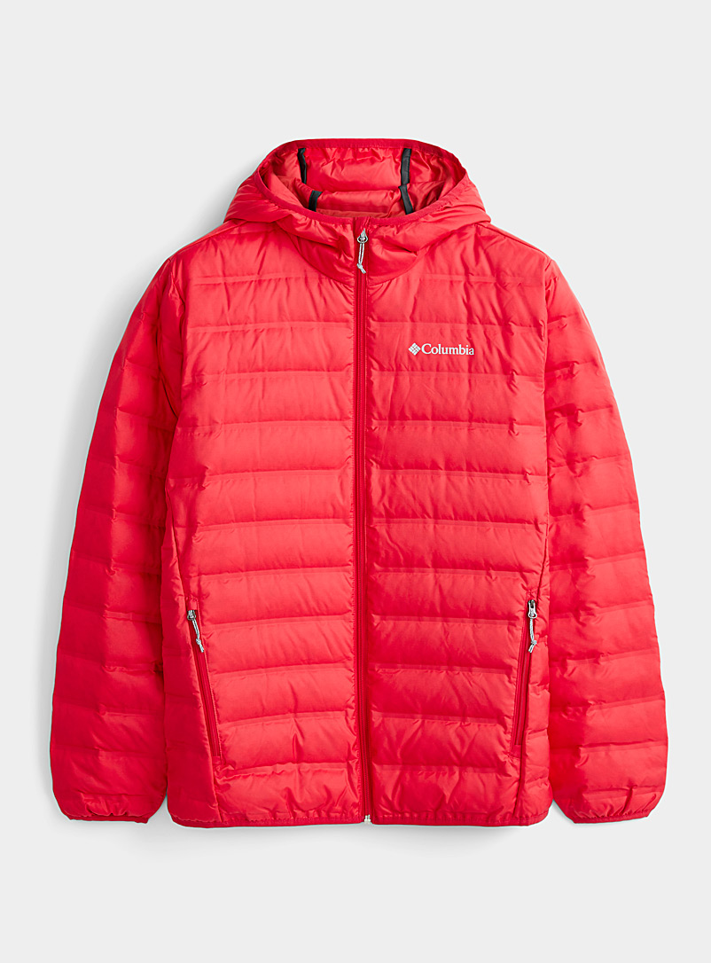 Columbia Red Lake 22 hooded quilted jacket for men