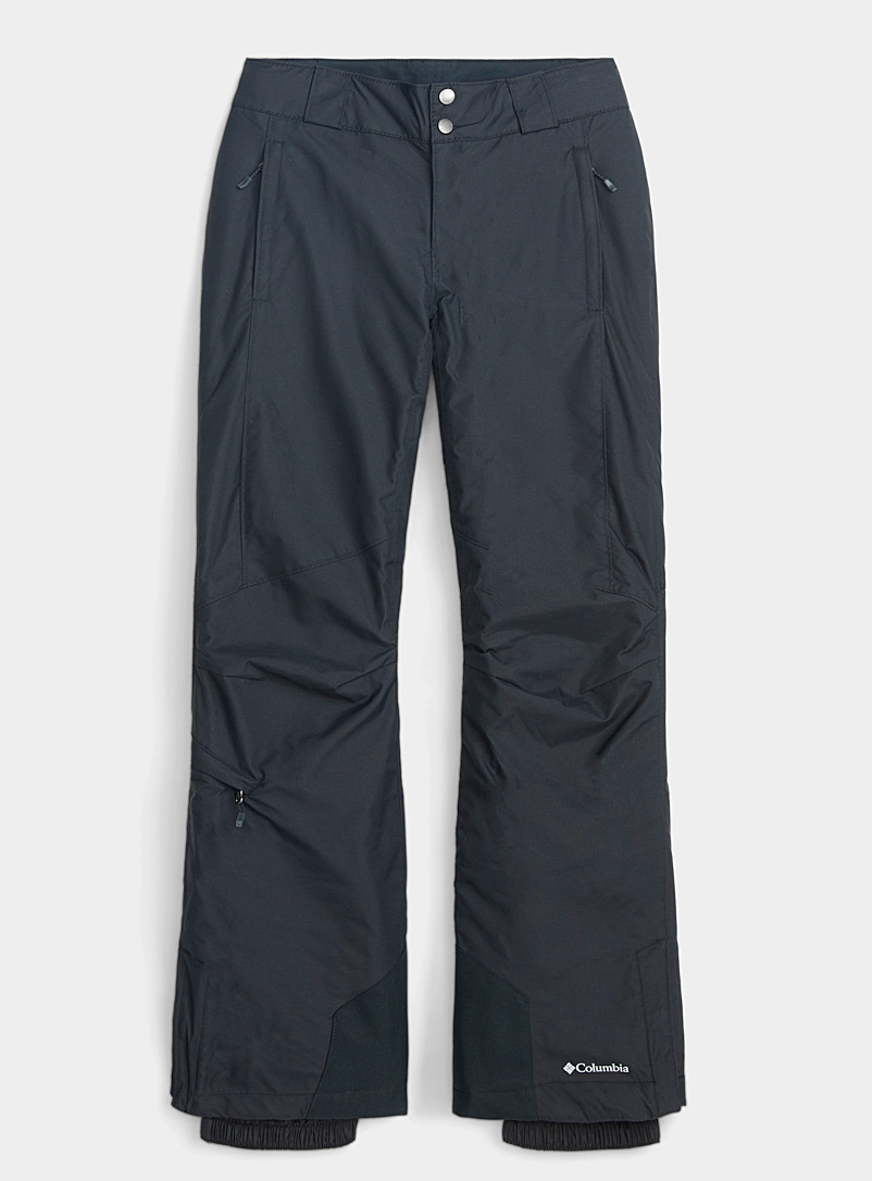 Columbia Black Bugaboo snow pant  Regular fit for women