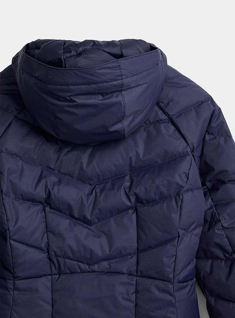 Columbia Black Lay D Down quilted parka  Long fit for women