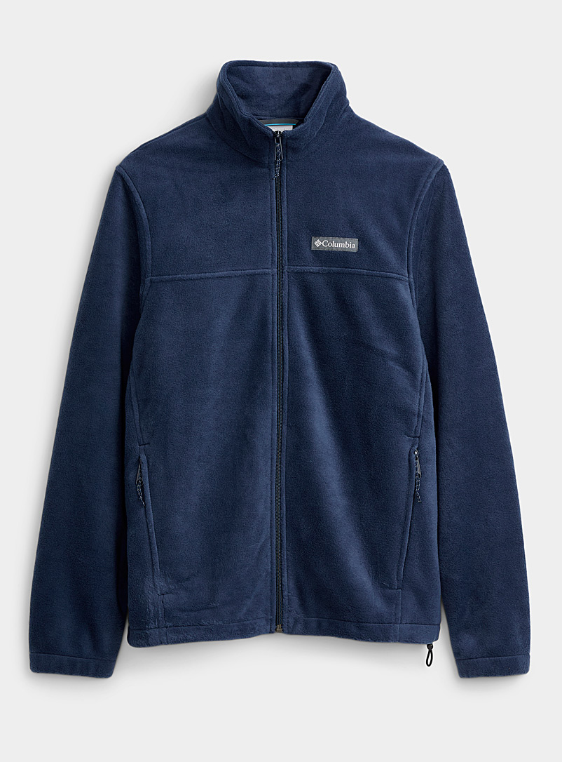 Columbia Marine Blue Outdoor polar fleece jacket for men
