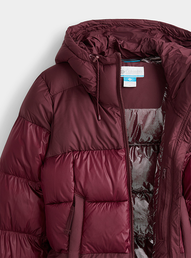 Columbia Black Pike Lake II shiny finish quilted coat  Regular fit for women