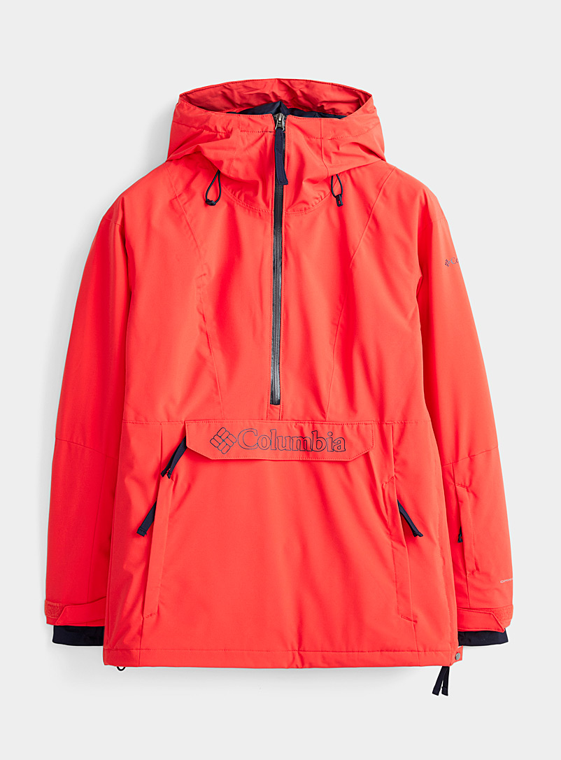 Columbia Red Dust on Crust insulated anorak  Active fit for women