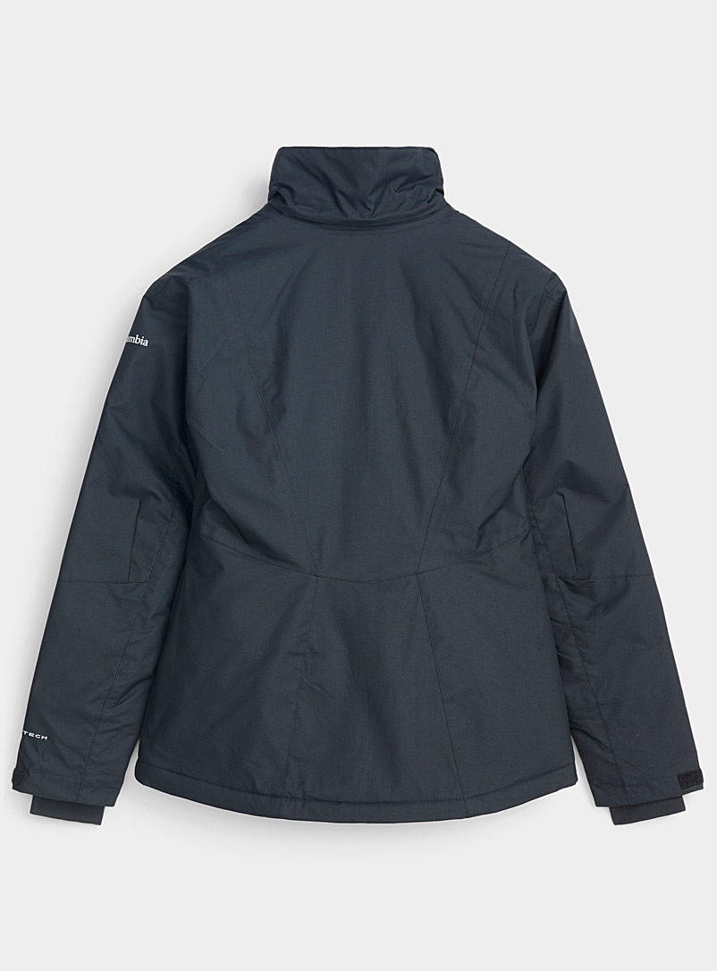 Columbia Black Last Track insulated coat  Active fit for women