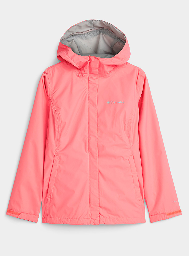 Columbia Coral Arcadia packable rain jacket for women