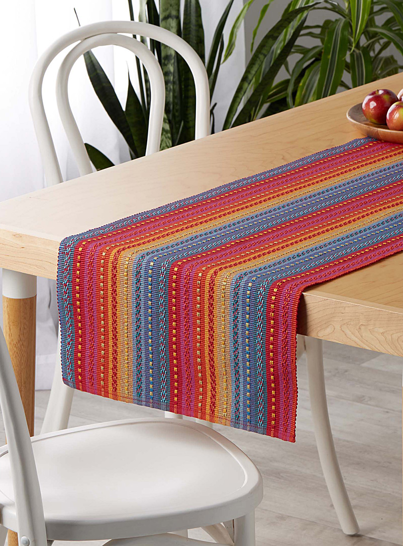 Garam Masala weave table runner - Centerpieces & Table Runners - Assorted