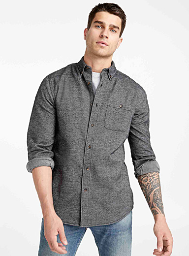 Rustic flannel shirt <br>Modern fit