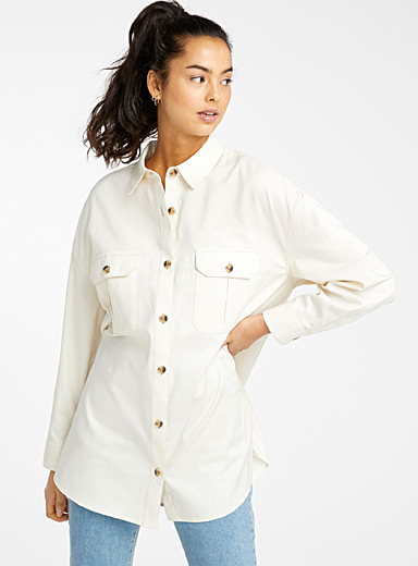 Organic cotton worker shirt
