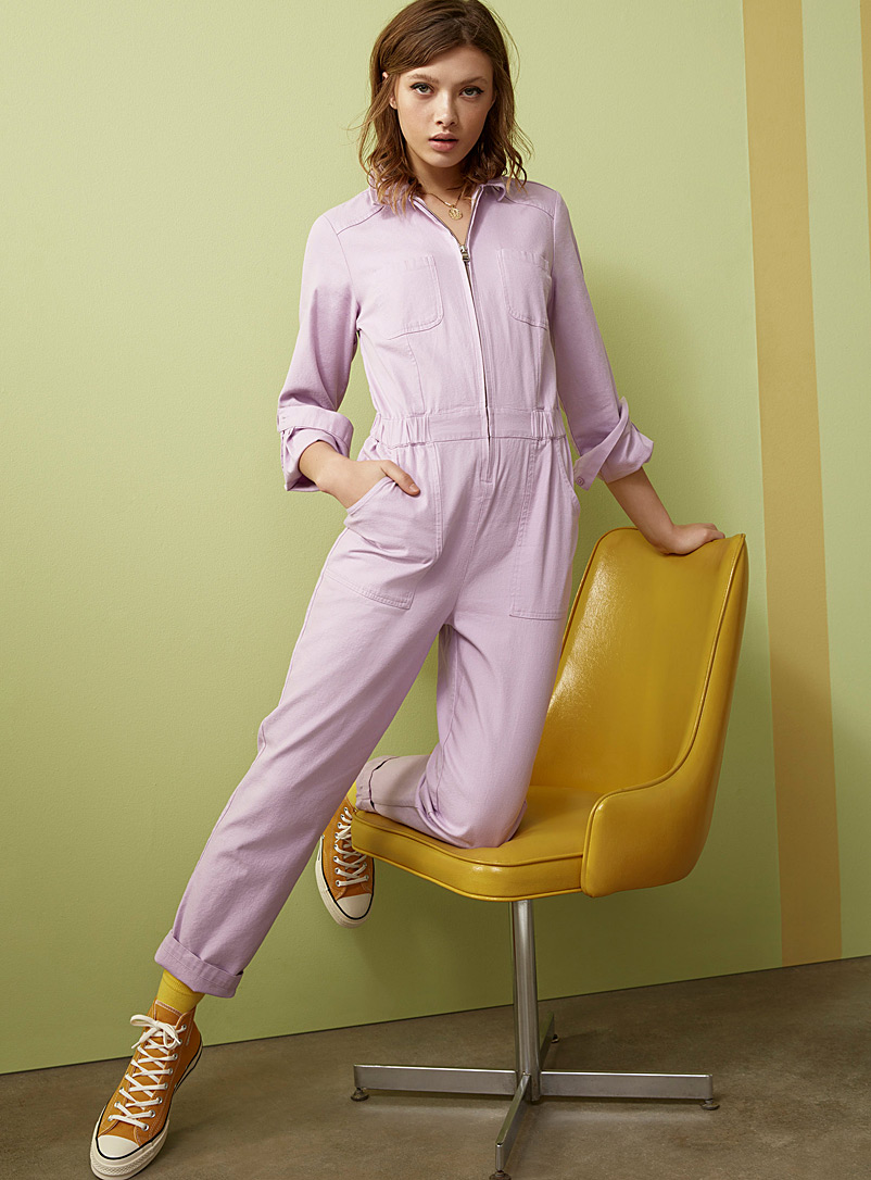 Twik Lilacs Eco-friendly utility jumpsuit for women
