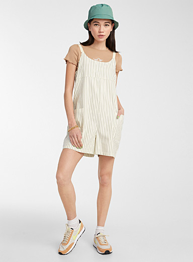 Patch pockets romper