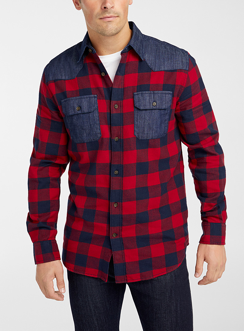 Heritage buffalo shirt  Modern fit