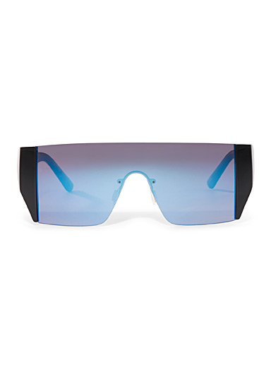 Tinted visor sunglasses