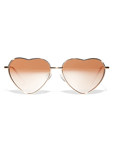 Mamma Mia heart-shaped sunglasses