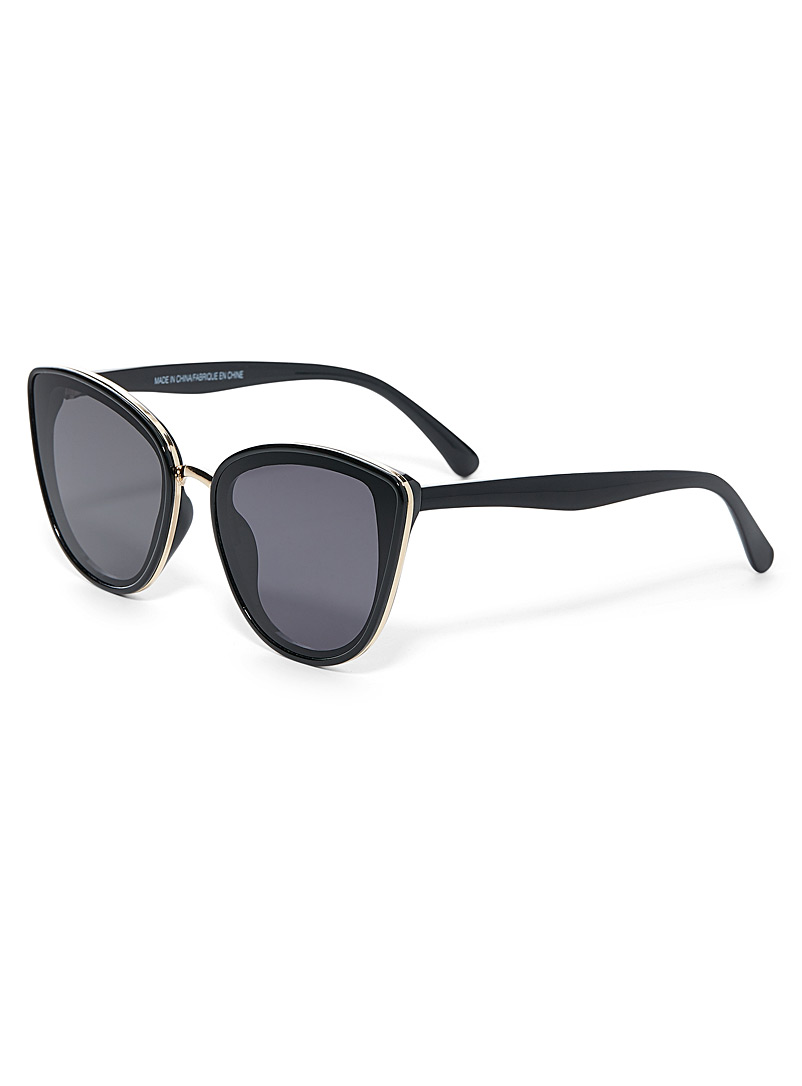 Layla cat-eye sunglasses - Less than $50 - Black
