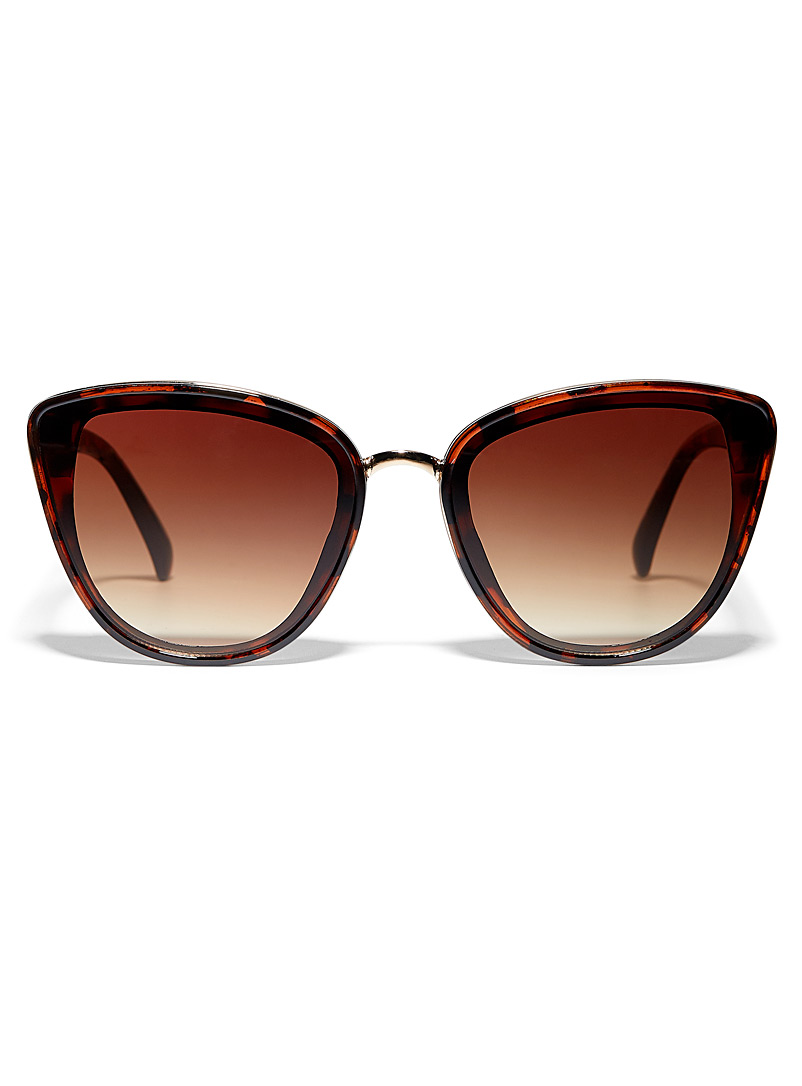 Layla cat-eye sunglasses - Less than $50 - Light Brown