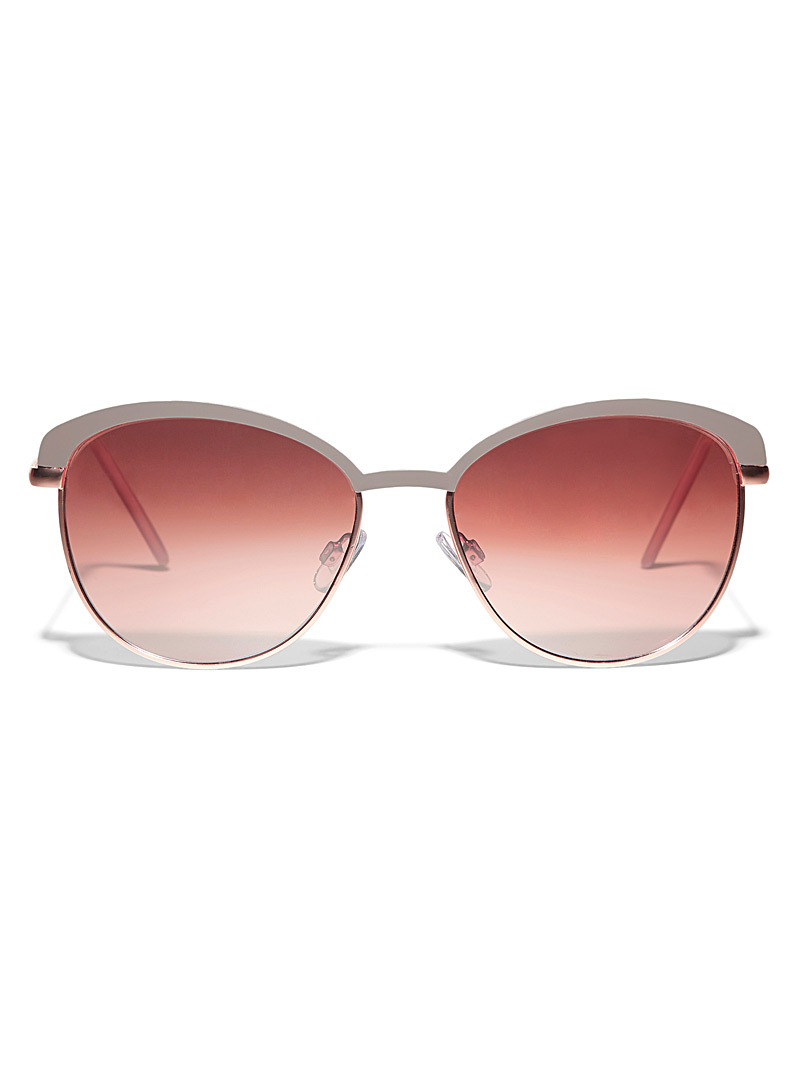 Simons Assorted Tinted cat-eye sunglasses for women