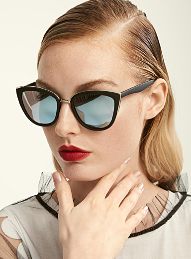 Zoe cat-eye sunglasses