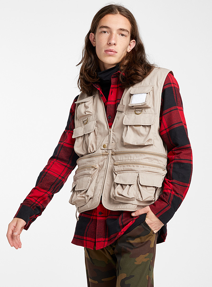Rothco Fawn Utility vest for men