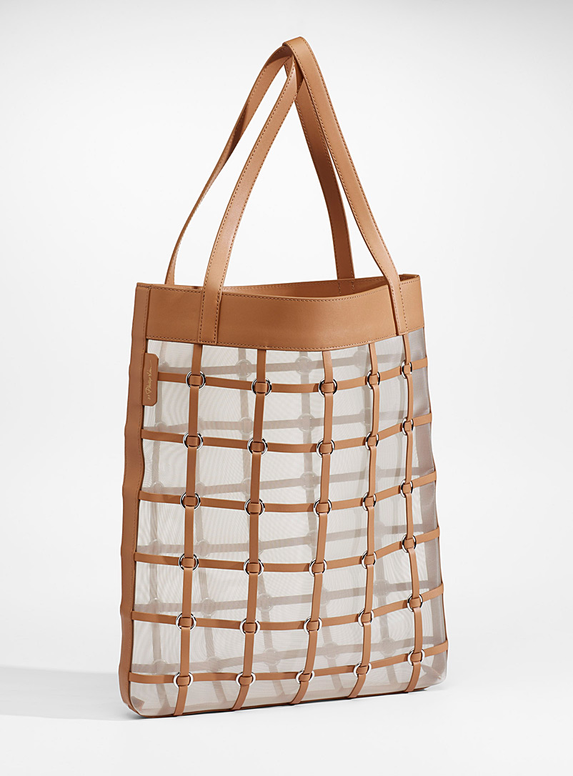 3.1 Phillip Lim Fawn Billie Medium Cage tote for women